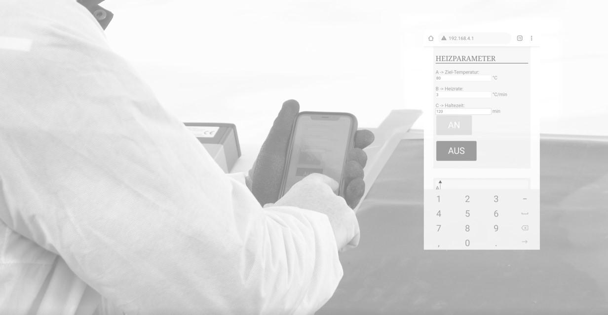 easyHeat digitaler Heizregler für Composite